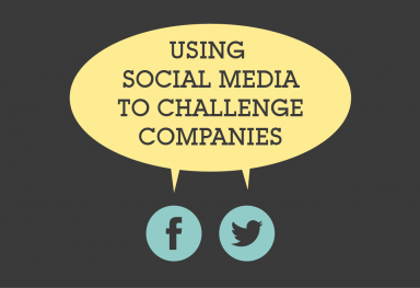 Using Social Media to Challenge Companies